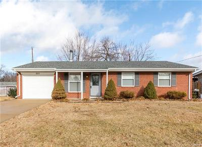 Swansea IL Single Family Home For Sale: $117,500