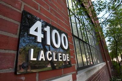 St Louis City County Condo/Townhouse For Sale: 4100 Laclede #302
