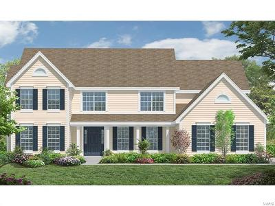 Des Peres New Construction For Sale: 2 Brighton Heights Court