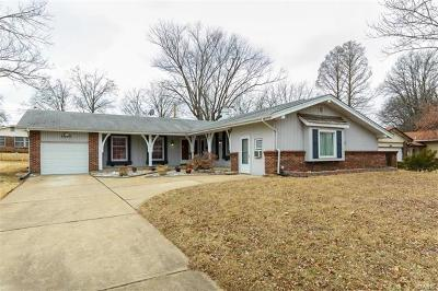 Florissant MO Single Family Home For Sale: $139,500