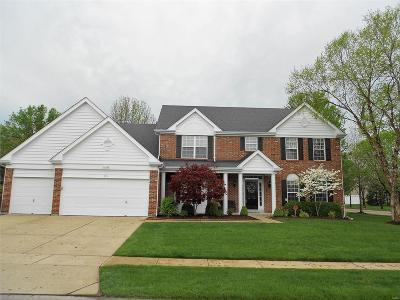 Ellisville Single Family Home For Sale: 801 Dogwood Meadows Court