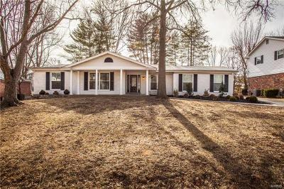 Ballwin Single Family Home Contingent No Kickout: 428 Claymont