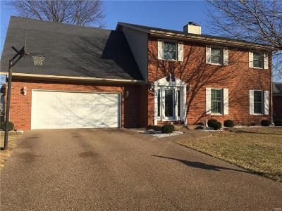 Mascoutah IL Single Family Home For Sale: $227,900