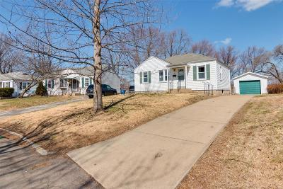 Florissant MO Single Family Home For Sale: $89,500
