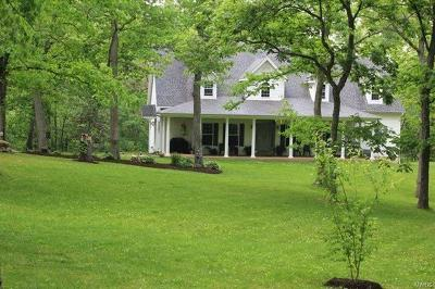 Foristell Single Family Home For Sale: 2635 South Point Prairie Road
