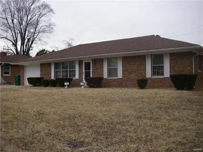 Fairview Heights Single Family Home For Sale: 207 Meckfessel Drive