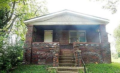 St Louis City County Single Family Home For Sale: 5332 Emerson Avenue