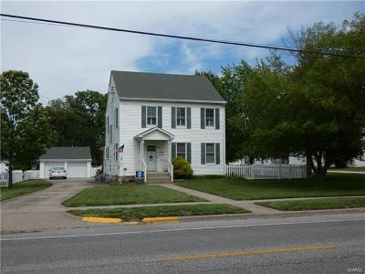 Jerseyville Single Family Home For Sale: 707 North State Street