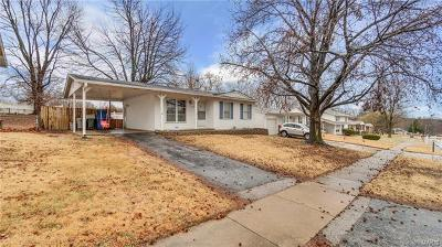 Hazelwood MO Single Family Home For Sale: $79,500
