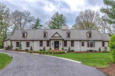 Ladue Single Family Home For Sale: 28 Fair Oaks Drive