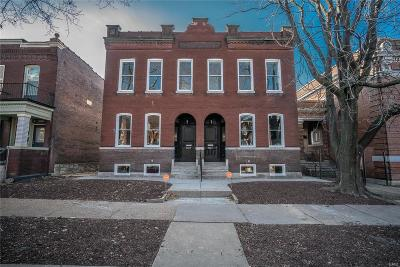 St Louis City County Single Family Home For Sale: 2209 Indiana Avenue