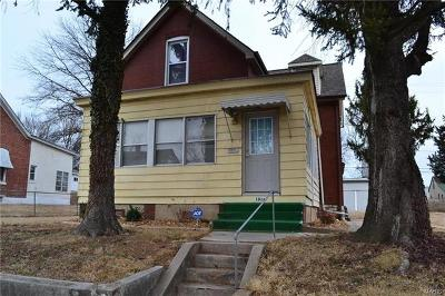 Belleville Single Family Home For Sale: 1016 South Church Street