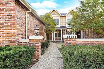 Chesterfield Condo/Townhouse For Sale: 14629 Timberlake Manor Court