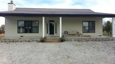 Monroe City MO Single Family Home For Sale: $305,000