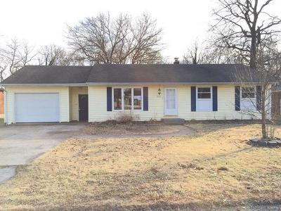 Columbia IL Single Family Home For Sale: $125,500