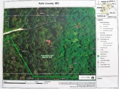 Monroe City MO Residential Lots & Land For Sale: $14,000