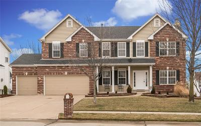 St Charles Single Family Home Contingent No Kickout: 4172 Millers Ridge