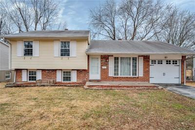 Florissant MO Single Family Home Contingent No Kickout: $109,500