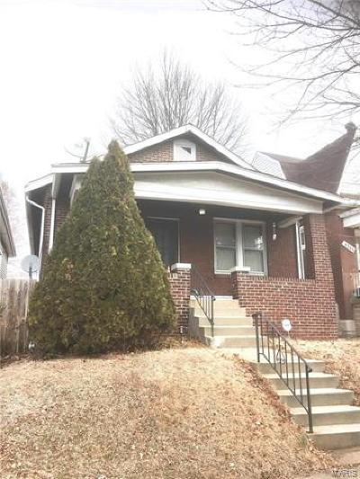 St Louis City County Single Family Home For Sale: 4349 Neosho