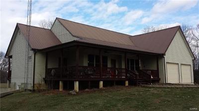 Monroe County, Ralls County Single Family Home For Sale: 23914 Monroe Road 878