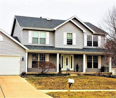 Cottleville, St Peters Single Family Home For Sale: 641 Avondale Drive