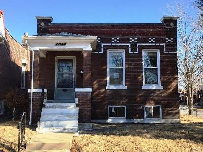 St Louis City County Single Family Home For Sale: 4163 Walsh Street