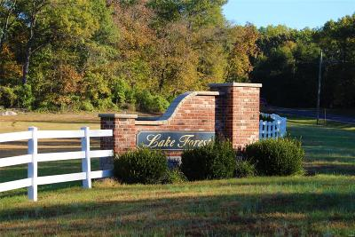 Lincoln County, St Charles County, St Louis City County, St Louis County, Warren County Residential Lots & Land For Sale: 180 Lake Forest Drive