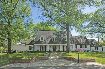 Ladue Single Family Home Contingent No Kickout: 22 Clermont Lane