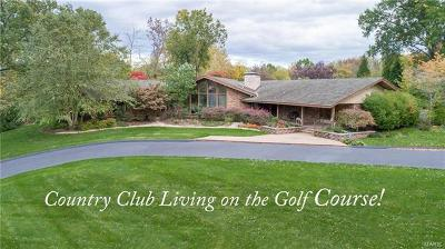 Ballwin Single Family Home For Sale: 62 Meadowbrook Country Club Est