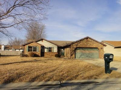 Fairview Heights Single Family Home For Sale: 309 Kim Drive