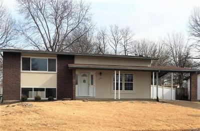 Single Family Home For Sale: 645 Sherwood Drive