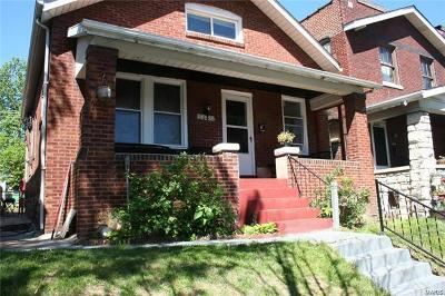 St Louis City County Single Family Home For Sale: 5433 Cologne Avenue