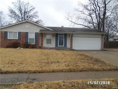 Single Family Home For Sale: 1659 Matlock Drive