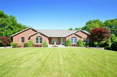 Single Family Home For Sale: 9543 Whippoorwill Lane