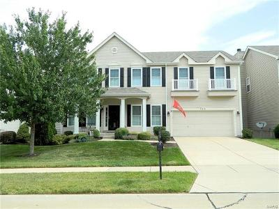 Dardenne Prairie Single Family Home For Sale: 239 Greenshire Lane