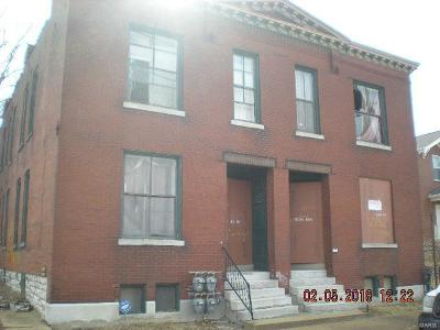 St Louis City County Multi Family Home For Sale: 2142 Farrar