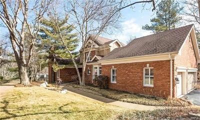 Creve Coeur Condo/Townhouse For Sale: 329 Carlyle Lake