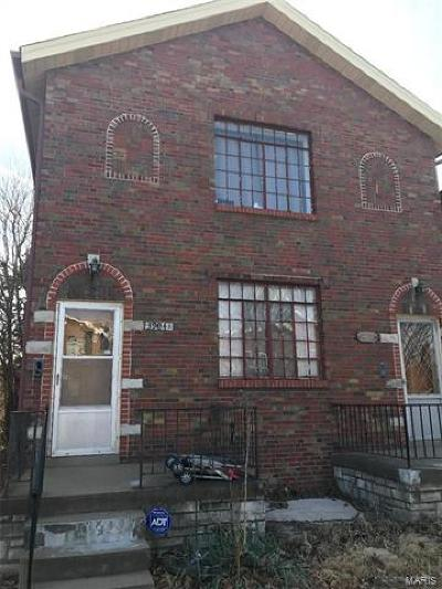 St Louis City County Multi Family Home For Sale: 3904 Dunnica Avenue