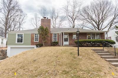 St Louis City County, St Louis County Single Family Home For Sale: 926 Albey Lane