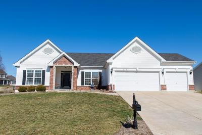 St Charles County Single Family Home Active Under Contract: 329 Autumn Forest