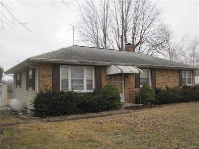 Red Bud Single Family Home For Sale: 9941 South Prairie Road