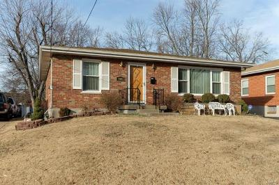 St Louis County Single Family Home For Sale: 7909 Hicks Avenue
