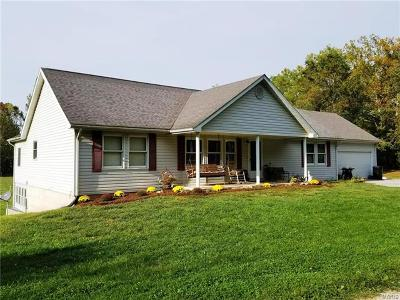 Lincoln County, Warren County Single Family Home For Sale: 755 Hwy D