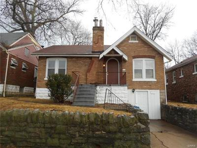 St Louis City County, St Louis County Single Family Home For Sale: 6922 Normandale Drive