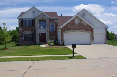 O'fallon Single Family Home For Sale: 1118 Hearthstone Drive