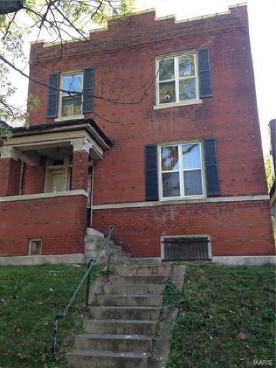 St Louis Single Family Home For Sale: 3714 Meramec Street