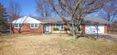 St Louis Single Family Home For Sale: 9549 Lewis And Clark Boulevard
