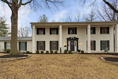Webster Groves Single Family Home For Sale: 500 Webster Path Court