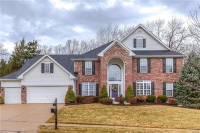 Wildwood Single Family Home For Sale: 1619 Whispering Hollow Court