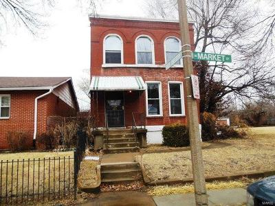 St Louis Single Family Home For Sale: 4649 North Market Street